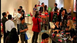 preview picture of video 'Doll Exhibition at Corp Executive Hotel Apartments Al Barsha'