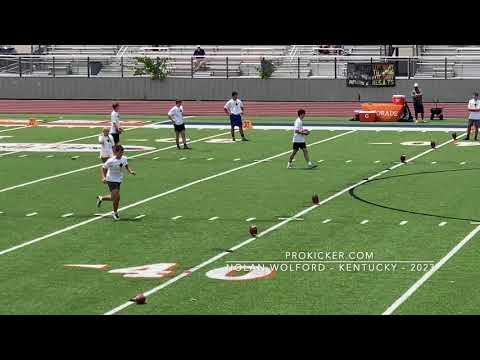 Nolan Wolford - Top Prospect Camp 2021 Kickoffs