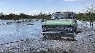 #Offroad Lada Niva 4x4 против Moskvich 412!! Нива и Москвич на бездорожье! Утопили Москвич иж 412