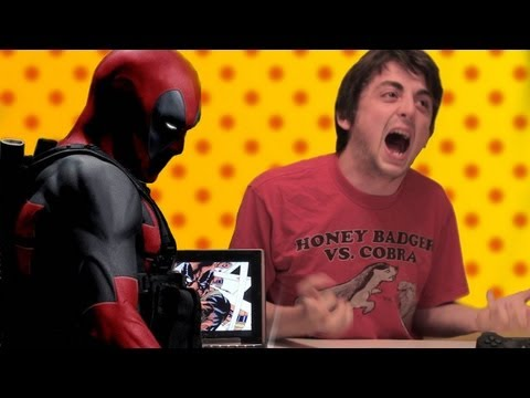 Watch This Idiot Eat A Crazy Chilli While Reviewing The Deadpool Game