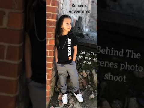 Romeo's Adventures Behind The Scenes Photo shoot Toy & Candy Review