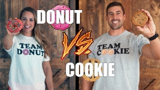 Debate: Donut vs Cookie | What's Your Cheat Day Dessert?