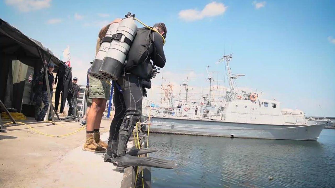 US Military News • U.S. & Ukrainian Navy Divers Partner Together ODESA, Ukraine • June 29 2021