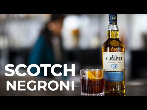 Scotch Negroni