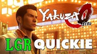 LGR - Yakuza Zero Review