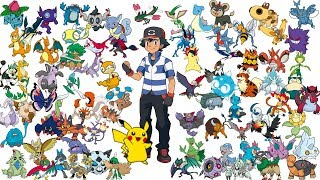 Ash's team in my fanfiction (Kanto to Alola) (Spoilers for fanfic) (Read Description)