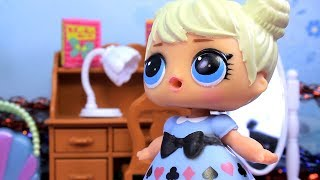 Куклы ЛОЛ НОВОГОДНЯЯ ВЕЧЕРИНКА 1 LOL Surprise Сюрпризы #Игрушки Видео для Детей с Лалалупси Вероника