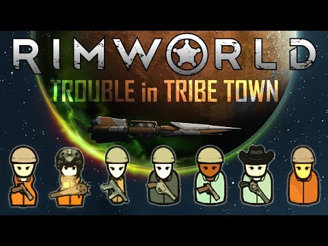 Rimworld - 'Trouble in Tribe Town' Ep14: TARGET PRACTICE (Cassandra/Modded/Severe)