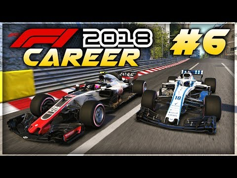 F1 2018 Career Mode Part 6: MONACO GEARBOX FAILURE DISASTER! INSANE FINAL RACE RESULTS!