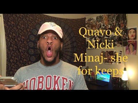 Quavo & Nicki Minaj - She For Keeps (REACTION!!!!!!!!!)