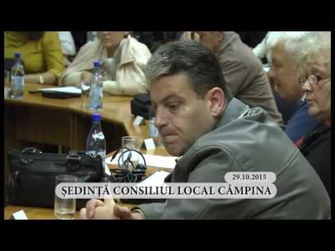 Sedinta ordinara a Consiliului Local Campina din luna octombrie 2015 – partea a V-a