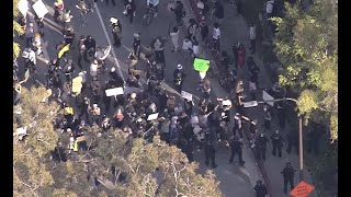 Watch Live: Black Lives Matter protesters rally in DTLA http://4.nbcla.com/d9aGVBa