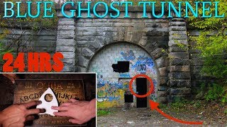 (GONE WRONG) OUIJA BOARD  SNEAKING INTO THE WORLDS MOST HAUNTED TUNNEL (BLUE GHOST TUNNEL)