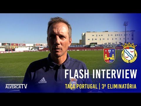 Flash Interview Torreense 2-0 FC Alverca