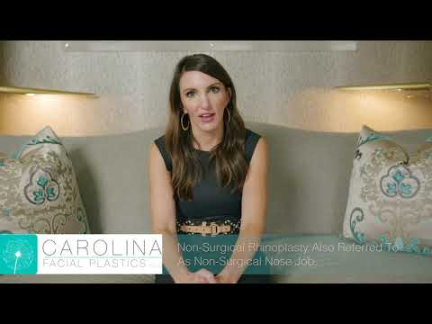 How To Change The Shape Of Your Nose Without Surgery | Carolina Facial Plastics