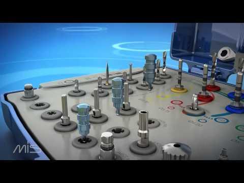 Набор для установки имплантатов MIS.