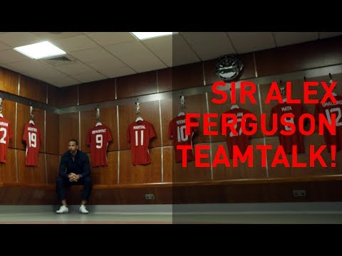 Sir Alex Ferguson's Last Man United Teamtalk!