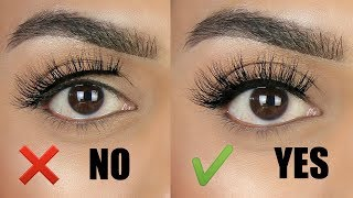 How to easily apply lashes with a THICK lash band | Tips & tricks for beginners