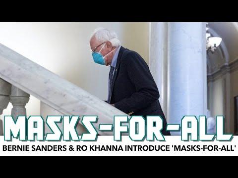 Bernie & Ro Khanna Introduce 'Masks-For-All'