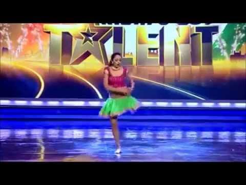 רקדנית מדהימה עם רגל אחת - מדהים!