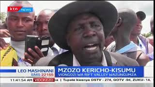 Waandamanaji wafunga barabara Kericho kuelekea Kisumu wakilalamikia kuchomwa matatu mbili za Kericho
