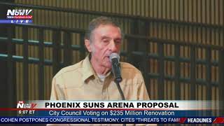 NAMAN RESURFACES: Man who shot elected official in 97 addresses city council ahead of Suns vote