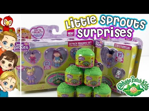 , title : 'Little Sprouts Cabbage Patch Kids Series Figure Blind Bag Cabbage | MyTubePM