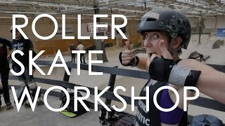 TEACHING ROLLERSKATING IN EINDHOVEN AFTER CRUISING THE STREETS OF AMSTERDAM ON A BICYCLE // VLOG94