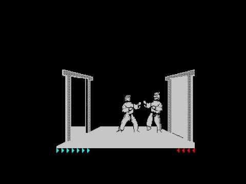 Karateka (Dro Soft/Gamart/Broderbound) (1990) (ZX Spectrum)