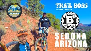 Sedona MTB Festival Mountain Biking with Jeff Lenosky and B1ker