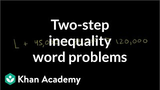 Writing and using inequalities 3