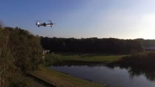 HUBSAN FPV X4 DESIRE in flight action!!