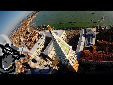 עיר המים במבט מהאוויר - ונציה מעין הציפור