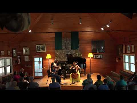 Arensky Piano Trio at the Kneisel Hall Music Festival