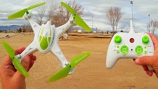 JJRC H29H Altitude Hold Learn to Fly Drone Flight Test Review