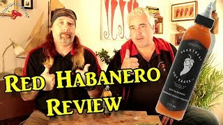 Red Habanero Hot Sauce by Heartbeat Hot Sauce Co Review
