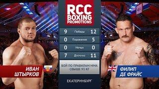 Иван Штырков vs Филип Де Фрайс / Ivan Shtirkov vs Philip De Fries