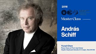 Sir András Schiff Piano Master Class 2016 - Yuval Chen