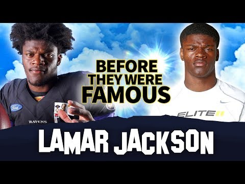 Lamar Jackson | Before They Were Famous | Baltimore Ravens QB Biography