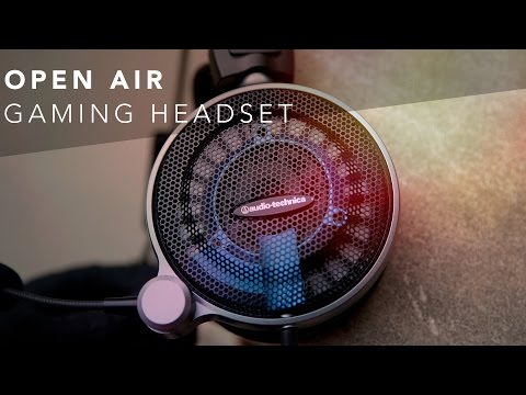 Audio-Technica ATH-ADG1x Review Open Air Gaming Headphones Review!
