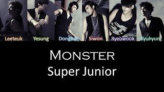 Super Junior Monster Lyrics