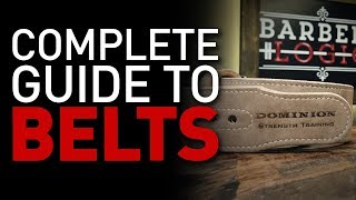 Using a LIFTING BELT - Everything You Need to Know
