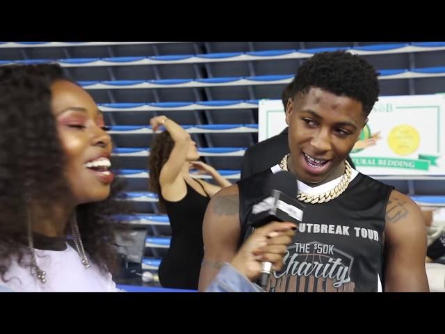 NBA Young Boy Tries To Take AUC Reporter On A Date