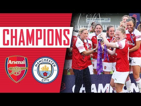 WE ARE THE CHAMPIONS! | Arsenal Women 1 - 0 Man City | Goals, highlights & celebrations