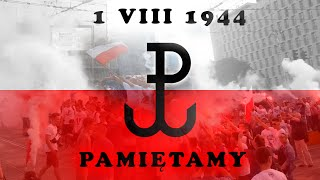 preview picture of video 'Warszawa Centrum - godzina W 17:00 (01.08.2014) rondo Dmowskiego'