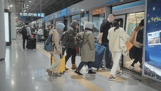 How To Take The Airport Railroad Train In South Korea