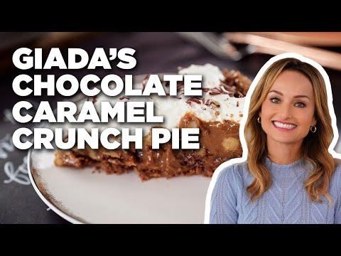 How to Make Giada's Chocolate Caramel Crunch Pie   Food Network