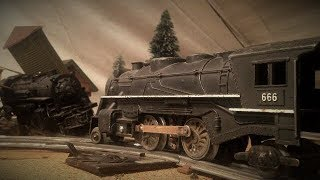 Nightmare Train vs 666 Lionel Marx Train Crash Battle NT 6
