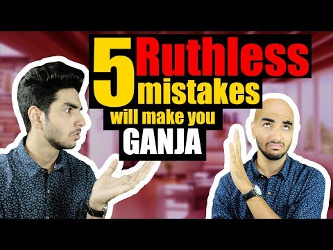 5 BIG HAIR mistakes that will cause HAIRFALL | Hairfall control for men