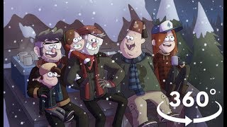 Happy New Year 2018 From Gravity Falls
